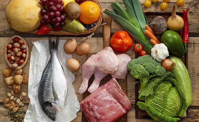 低脂肪・高タンパクの食品
